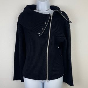 Black Edgy Sweater Color